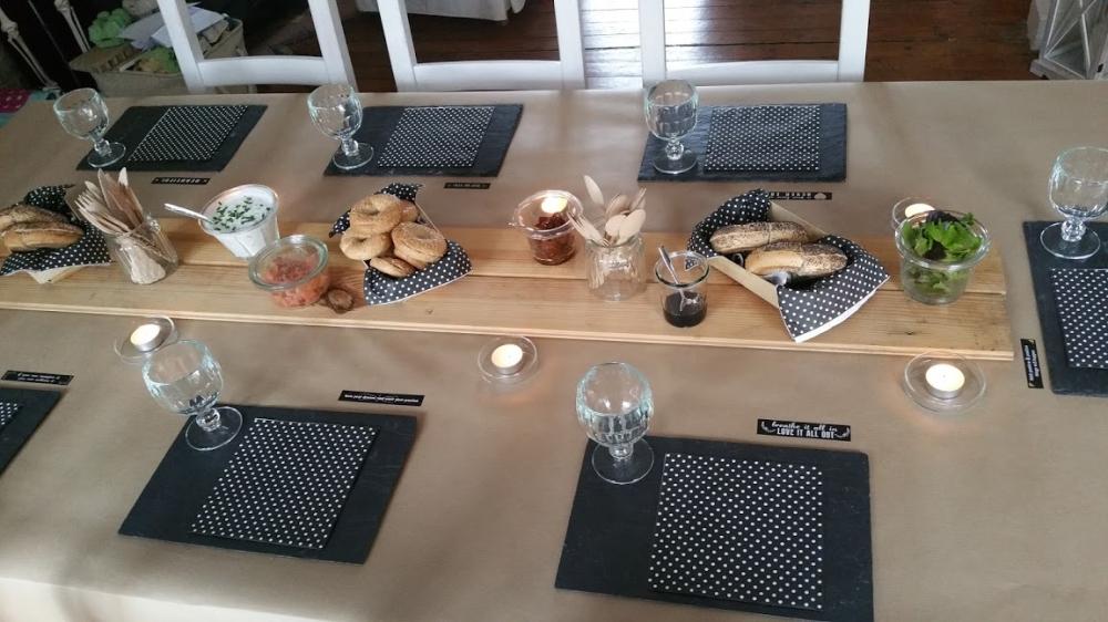 déco table bagels 17